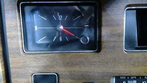 1973 Buick Centurion OEM Clock Assembly Tested OEM
