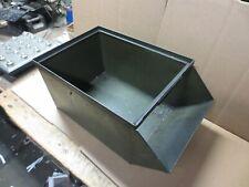 #4 Stackbin MetalPan Industrial Stacking Bin Parts Bin Industrial  USED