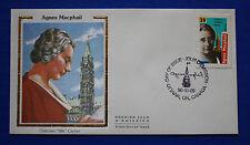 """Canada (1293) 1990 Agnes Macphail Colorano """"Silk"""" FDC"""
