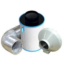 """Ram RVK Kit (184m³/hr) & Carbon Filter 4"""" ( 100mm ) - 5m Aluminium Ducting"""