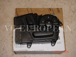 Mercedes-Benz GL R ML Class Genuine Right Front Seat Switch NEW with Memory