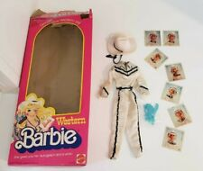 Vintage Western Barbie #1757 1980 Original Box and Accessories. Lot of 13