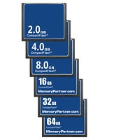 Compact Flash 1/2/4/8/16/32/64GB Standard OEM CF Memory Card