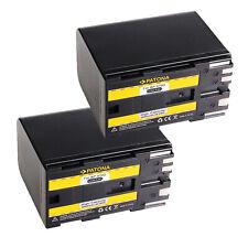 2x Batteria Patona 6600mAh li-ion per Canon BP-970G