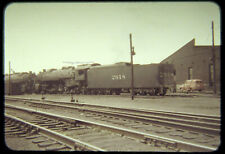Original Osld Slide Illinois Central Ic 2618 Steam 2-10-2 c1950's no other info