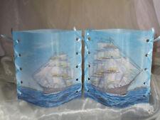Deko Windlicht Segelschiff Meer Tischlicht Unikat Geschenkidee