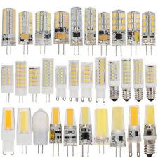 G4 G9 E14 Ampoule LED AC DC12V 220V à variation 2835 3014 maïs lampe DEL