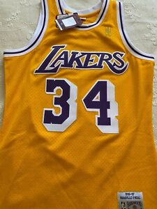 Shaquile O´Neal Mitchell & Ness Lakers swingman jersey size M