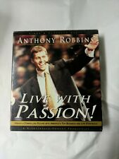 Live With Passion! Create a Compelling Future - Anthony Robbins 6 CD Audio Set