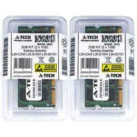 2GB KIT 2 x 1GB Toshiba Satellite L30-C340 L35-S1054 L35-S2151 Ram Memory