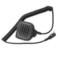 Two Way Radio Speaker Mic for Kenwood Radio/Juentai/Vitai/AnyTone Black New