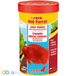 Sera Red Parrot 1000mL Rapid Color Enhanciong Pellets for Red Parrot Cichlids