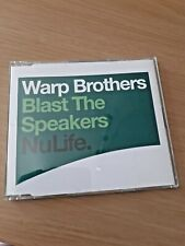 WARP BROTHERS - Blast the Speakers CD Trance / Dance
