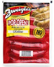 Zweigle's Natural Casing White Pop Open Hot Dogs 6 lbs