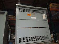 Rex 220Kva 460-460Y/266V 3Ph Dry Type Transformer K-4 Used Electrically Ok