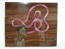 """Glossolalia"" Original Art - Direct from Artist - Color Pencil on Mahogany"