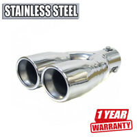 Sport Exhaust Tip Trim Tuning Pipe For Mercedes Cls G Glk R Sl Vaneo 190 B Cl