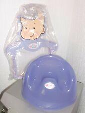 Baby Born Accessories - Purple Potty & Hangers