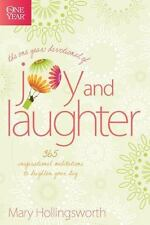 The One Year Devotional of Joy and Laughter: 365 Inspirational-ExLibrary