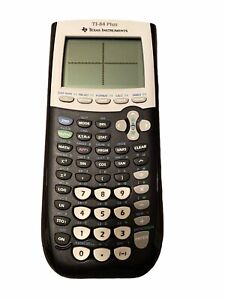 Texas Instruments TI-84 Plus Graphing Calculator With Cover - Black