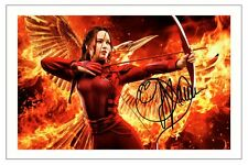 JENNIFER LAWRENCE THE HUNGER GAMES SIGNED PHOTO PRINT AUTOGRAPH MOCKINGJAY 1 2