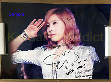 SNSD  EXO SMtown Custom Made individual hand signed  KOR message pre-order item