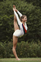 OLD SPORTS PHOTO OLYMPICS Gymnast Suzanne Dando Of Great Britain 2