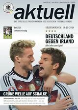 * 2014 - GERMANY v REPUBLIC OF IRELAND (EURO QUALIFIER - 14th October 2014) *