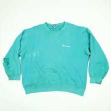 Destroyed Vtg Champion Sweatshirt XL Faded Paint Distressed Frayed Grunge USA Md