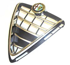 ALFA ROMEO GIULIETTA NUOVO ORIGINALE PARAURTI anteriore griglia radiatore & Badge (2013 ON)