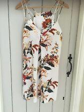 WAREHOUSE Strappy V neck floral dress  Size 10