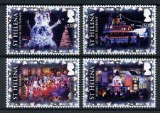 St Helena 2018 MNH Festival of Lights 4v Set Parades Ships Christmas Stamps