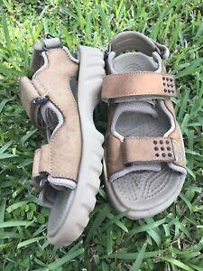 Crocs Swiftwater Fisherman Leather Sport  Sandals Mens Sz 7