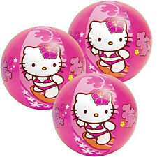 "12 Intex Hello Kitty Sanrio Inflatable 20"" Pool Beach Balls Toy Party Favors NEW"