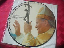 POPE JOHN PAUL II VYNIL PICTURE RECORD RELIGION CATHOLIC