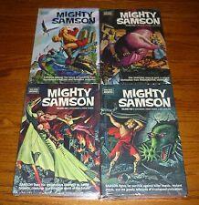 Mighty Samson Archives  #1-4 SEALED Volumes Dark Horse hardcover books, Gold Key