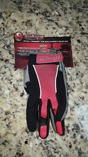 New Stryker Tournament Paintball Gloves - Red & Black size Youth