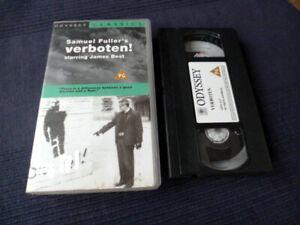 VHS VERBOTEN 1959 Forbidden Samuel Fuller englisch James Best Susan Cummings
