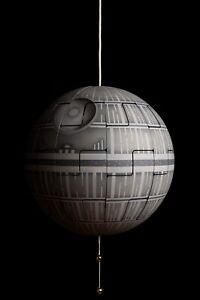 IKEA PS 2014 Star Wars Death Star Pendant Lamp 52cm Bronze
