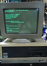 OLIVETTI M24 COMPUTER VINTAGE DEL 1984 INTROVABILE CON SOFTWARE E MANUALI D'USO!
