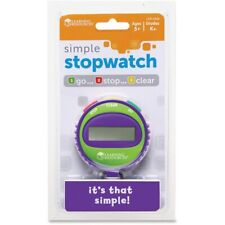 Learning Resources Simple Stopwatch # LER0808 Purple Green