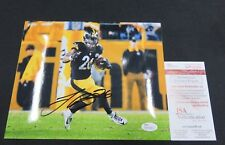 LE'VEON BELL PITTSBURGH STEELERS SIGNED 8X10 PHOTO JSA WITNESS WP068855 FREE S&H