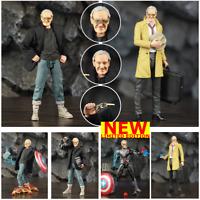 """Marvel Legends Avengers Infinity war 6"""" Stan Lee Action Figure Exclusive Custom"""