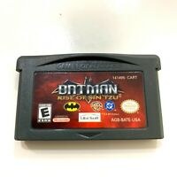 Batman: Rise of Sin Tzu - Game Boy Advance GBA Game Tested Working Authentic!
