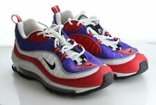 14-40 MSRP $170 Women's Size 9 Nike Air Max 98 SE Red Leather & Mesh Trainers