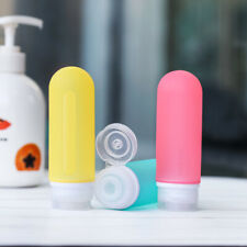 Silicone Travel Bottles Leak Proof Squeezable refillable tube For Shampoo