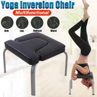 Invertito Yoga Inversione Sedia Esercizio Fitness Sgabello Headstand PU Pads Gym