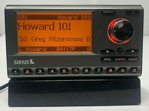 Sirius Sportster Radio Receiver SP3 Active Subscription w/ Antenna, Dock REMOTE