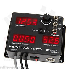 International 2'S' Pro + Driver Display Socket Average Speed Distance RACE RALLY