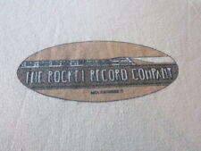 VINTAGE LAMBRETTAS MOD REVIVAL ROCKET RECORD COMPANY ACE FACE TEE SHIRT 1979
